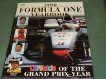 1998 FORMULA ONE YEARBOOK Chronicle Of The Grand Prix Year (Grant 1998)